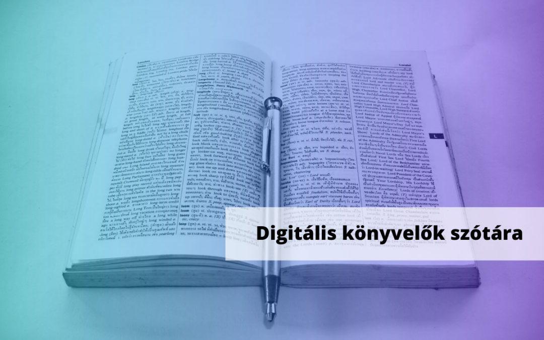 Digitális könyvelők szótára